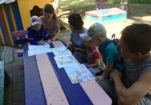 Совместный тренинг По дорое в детский сад ДОО 21